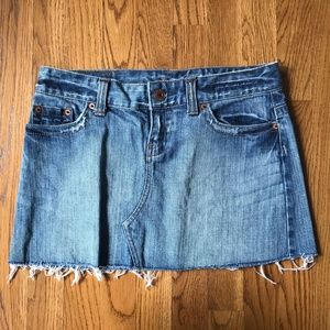 AEO American Eagle Outfitters Distressed Skirt